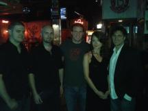 NHLer Bates Battagila and band