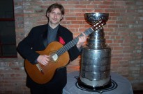 "Playing a ""G"" Chord with the Cup!"