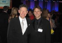 Ed and Lyle Lovett at Jimmy V Benefit