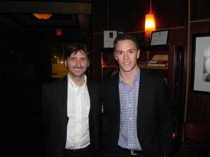 Ed and NHLer Jonathan Toews