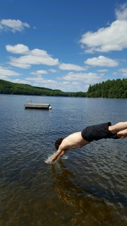 Day 3: Ed's Olympic dive