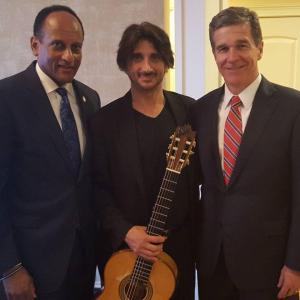 Ed with Governor Cooper